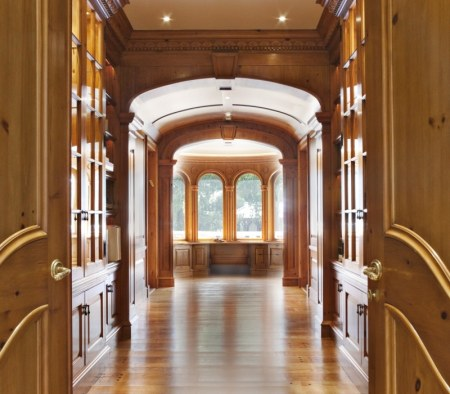 Custom Millwork at a Residential Home