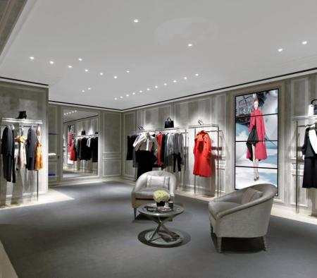 Millwork at Christian Dior at Saks Fifth Avenue