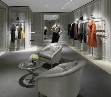 Custom Fixtures for Christian Dior