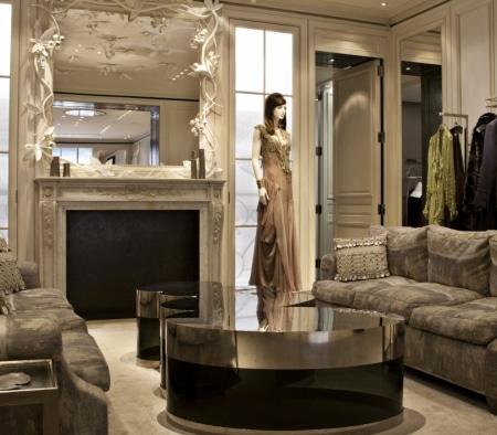 Custom Millwork at Christian Dior Flagship