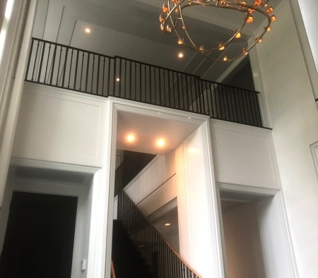 Entrance Way at an East Hampton Home