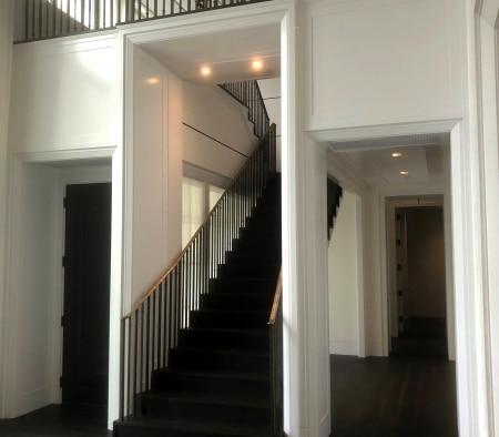 Main Staircase at an East Hampton Home