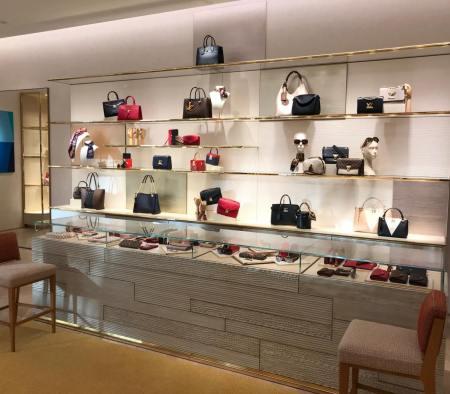 Perimeter Custom Millwork at Louis Vuitton in Neiman Marcus