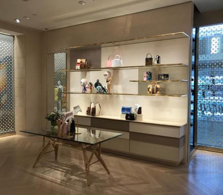 Perimeter Custom Millwork at Louis Vuitton in Neiman Marcusvvvv