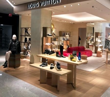 Custom Millwork at Louis Vuitton Shoe Boutique
