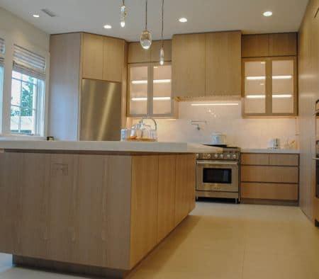 Architectural Woodwork in a Modern Kitchen