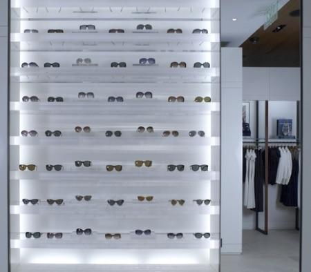 Sunglasses Showcase Display at Ralph Lauren