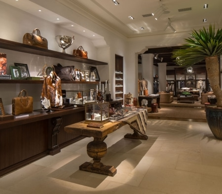 Custom Millwork at the Ralph Lauren Flagship on Rodeo Drive
