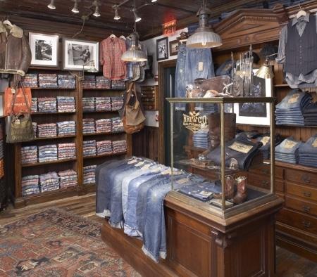 Custom Fixtures at Ralph Lauren Men's Flagship