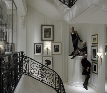Custom Staircase at the Ralph Lauren Women's Flagship