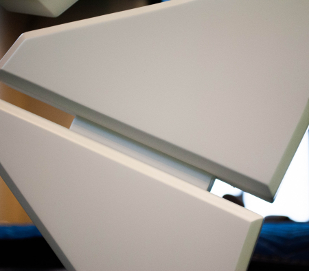 Details of a Custom Made Millwork Fixture