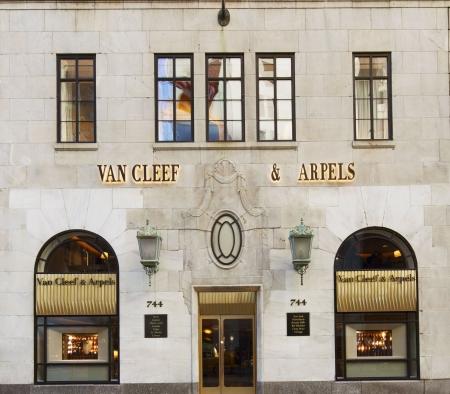 xterior at Van Cleef & Arpels