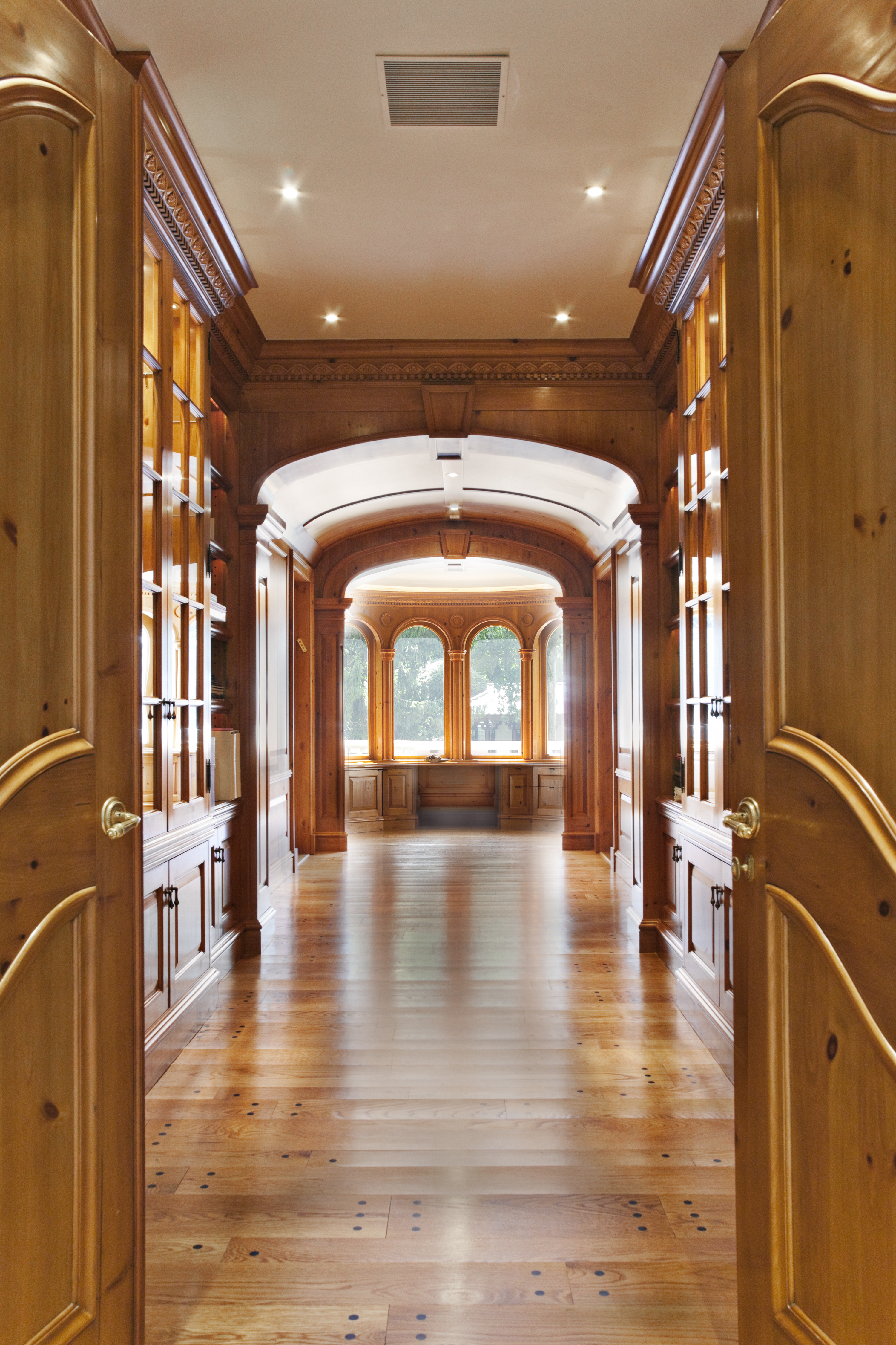 Millwork Details of Great Hall