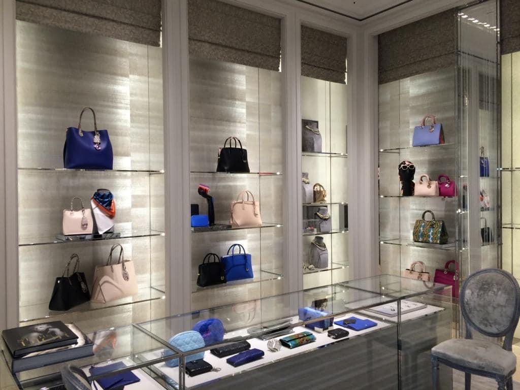 Christian Dior Perimeter Millwork Fixtures