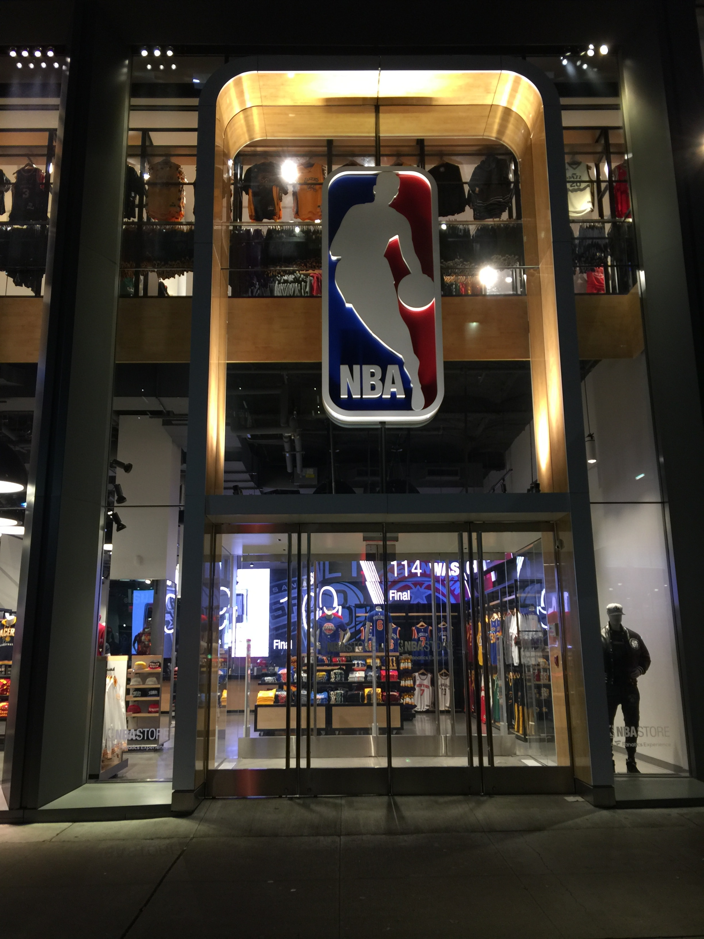 NBA Store Front