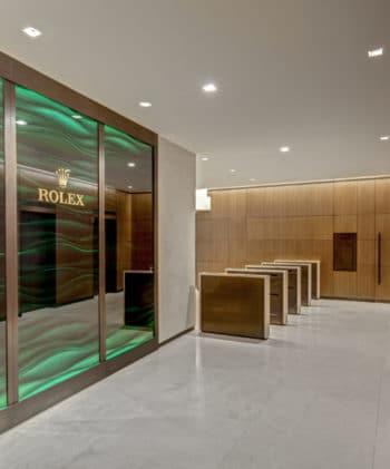 Rolex Lobby – New York