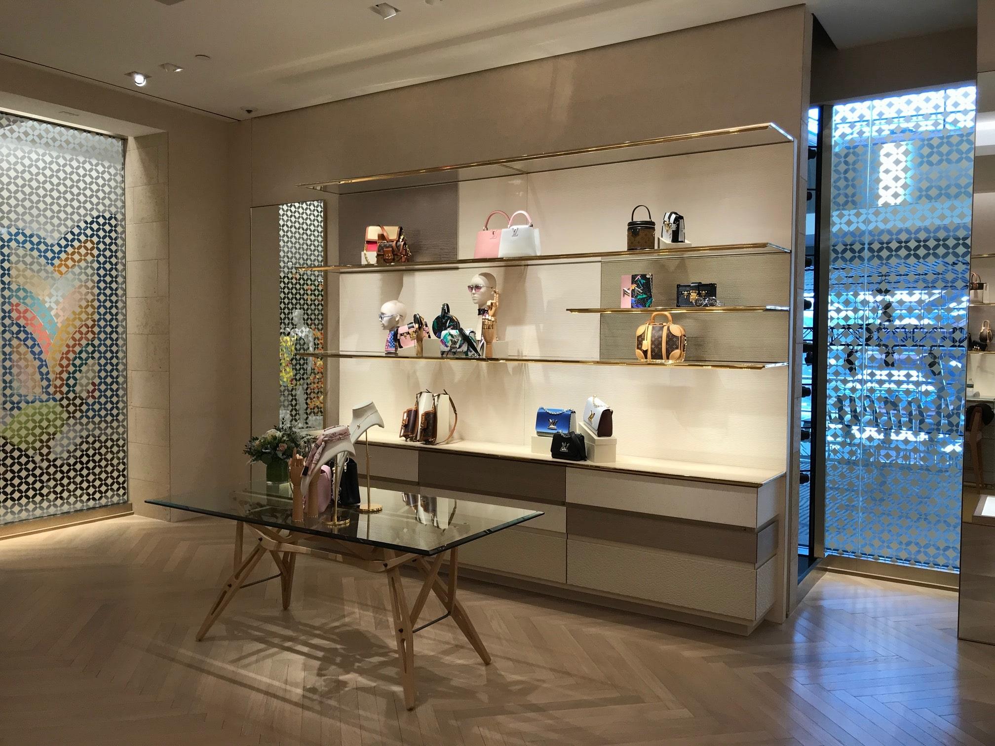 Perimeter Millwork at Louis Vuitton