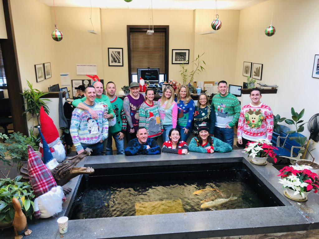 Ugly Sweater Office Party