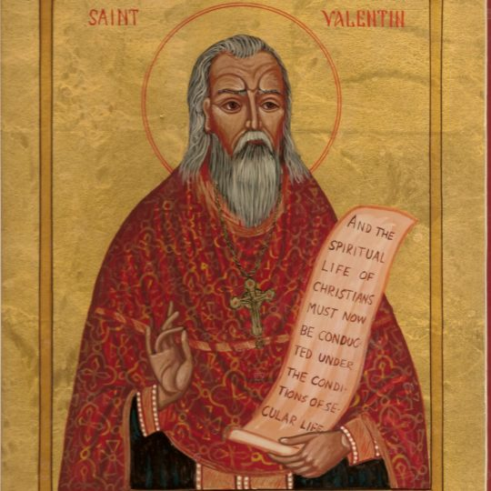 ST. VALENTINE & THE ALMOND TREE