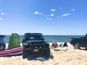 Jeep on the Beach