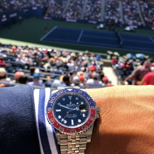 Rolex US Open Wrist Picture