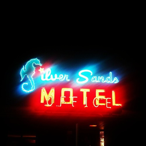 Silver Sands Neon Sign